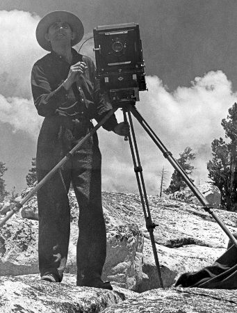 Ansel Adams in Sierra