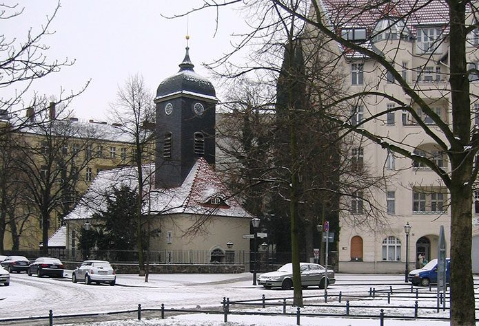 The historic village of Rixdorf (now part of Berlin).
