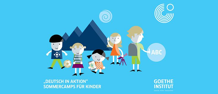 """Deutsch in Aktion"" Sommercamps für Kinder"