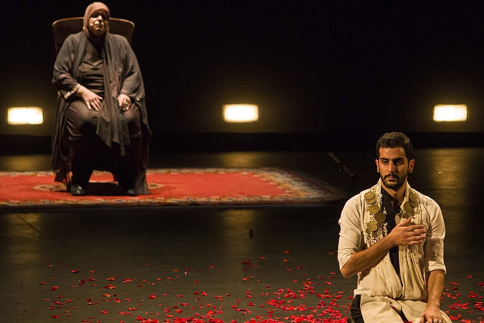 """Leila`s Death"" by Ali Chahrour, Performance"