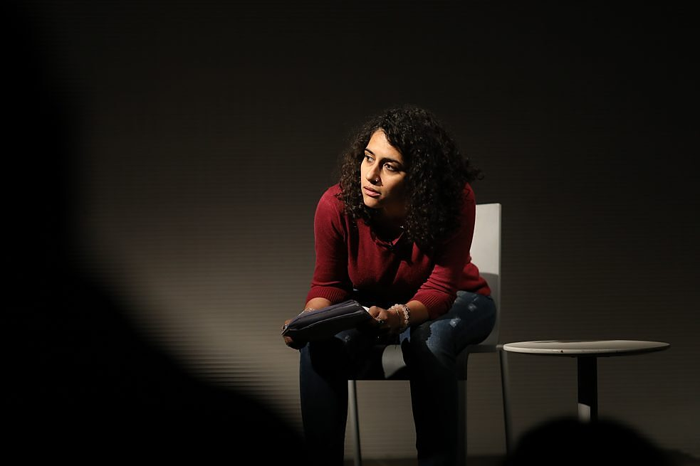 """Baba, come to me"" von Farah Barqawi, Performance Reading"