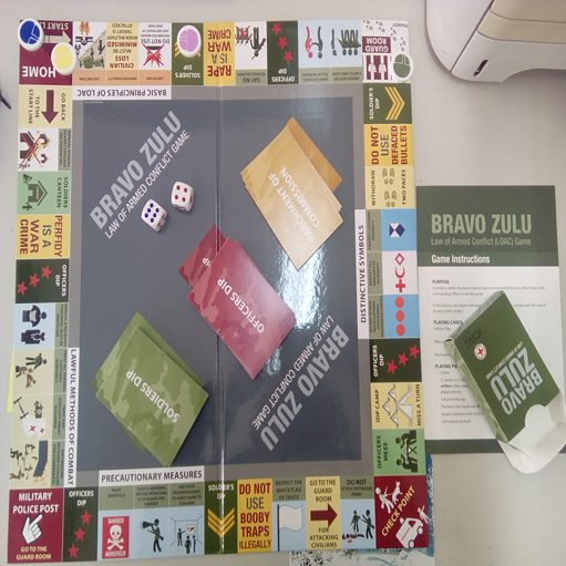 Bravo Zulu board game Image