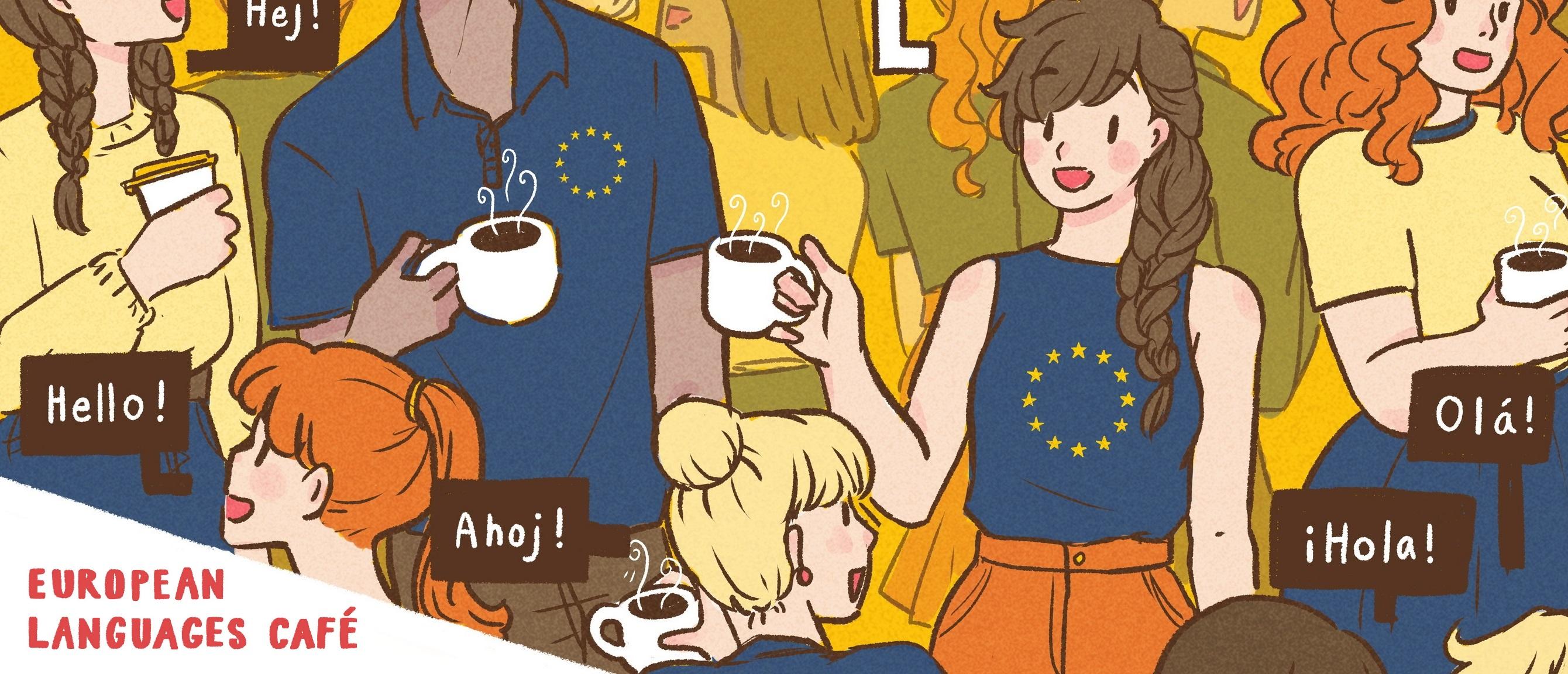 EU Sprachen Cafe