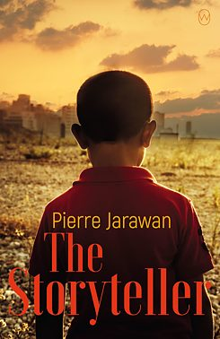 Book cover <i>The Storyteller  </i>