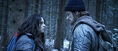 Esme Creed-Miles and Joel Kinnaman in the eight-part first season of 'Hanna' (2019).