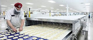 Brezelproduktion in Cincinatti, Ohio