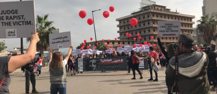 ABAAD Stunt beim Internationalen Marathon in Beirut