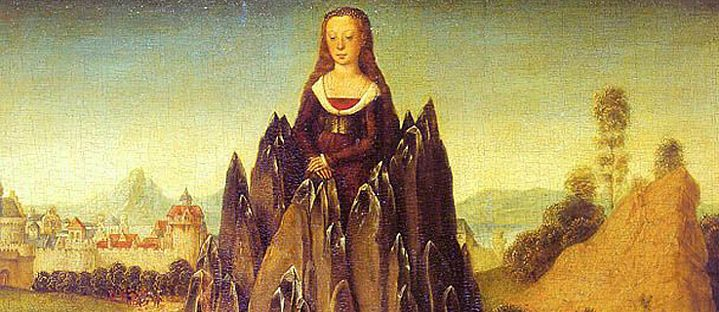 Hans Memling. Allegory of Chastity