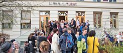 Norway is the Guest of Honour at this year's Frankfurter Buchmesse. From 26 to 28 April 2019, the German-Norwegian literature festival On the Way to Frankfurt at the Litteraturhuset in offered a foretaste