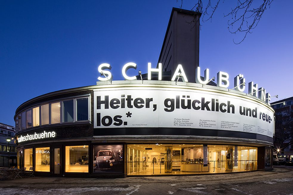 The Schaubühne moved into a listed former cinema in Berlin-Wilmersdorf in 1981.