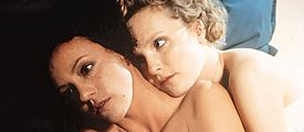 "The actresses Maria Schrader and Juliane Koehler in a scene of the film ""Aimée and Jaguar"""