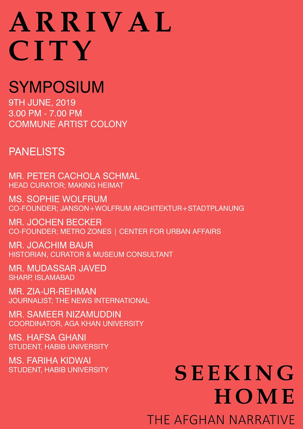 Exhibition and Symposium