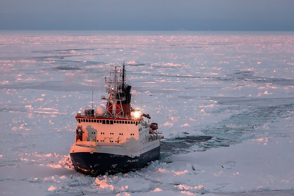 The project is the largest Arctic expedition ever undertaken.