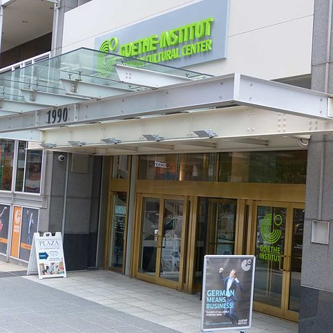Entrance of the Goethe-Institut Washington