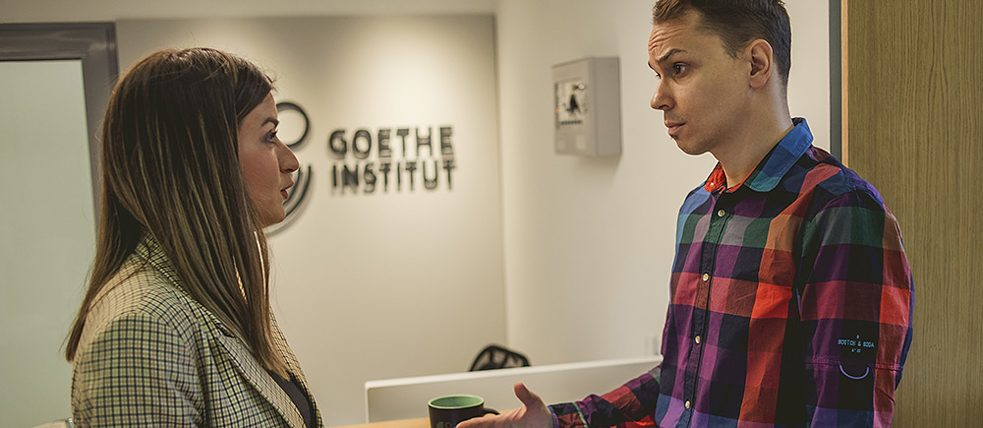 Counseling at the Goethe-Institut Belgrad