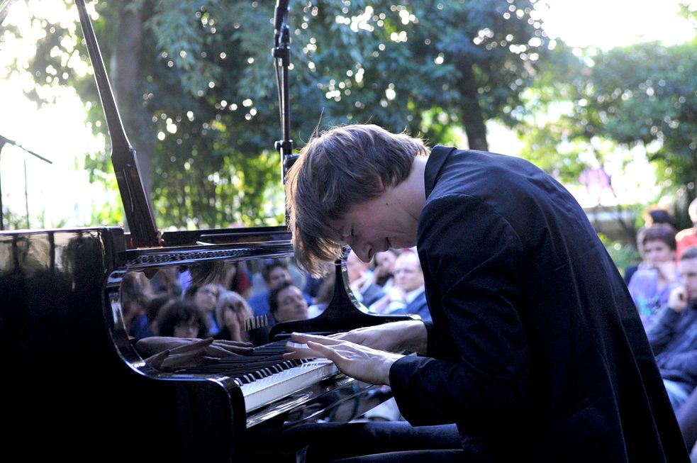 Michael Wollny no piano, JiGG 2010