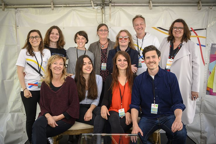 Team of Wunderbar Together at the Bay Area Book Festival