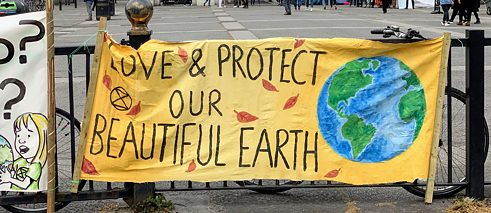 Love & Protect our Beautiful earth banner