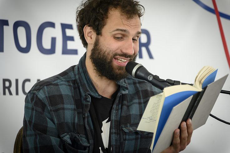 Takis Würger at the Bay Area Book Festival