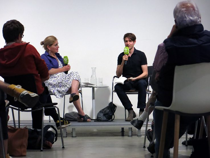 Benedict Wells at the Goethe-Institut New York