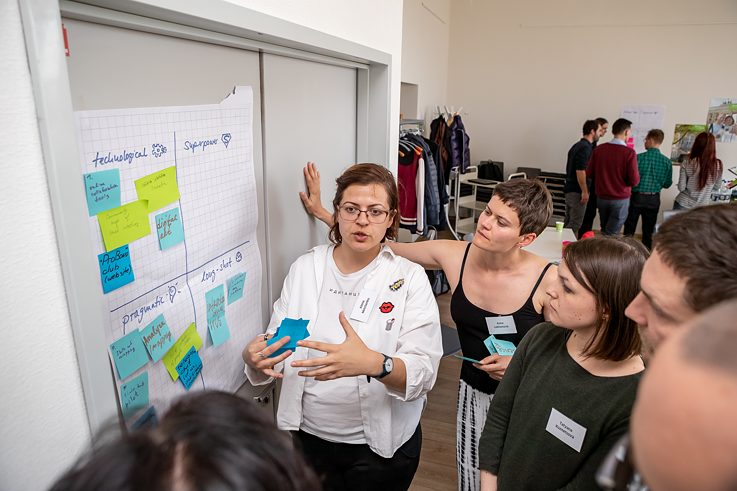 Kick-off-Workshop Innovationsplattform am 28.–30. April 2019