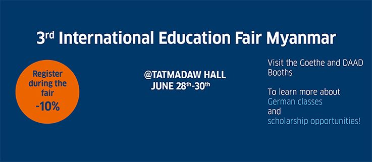 3. International Education Fair Myanmar