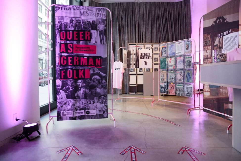 Exhibition opening Queer as German Folk in New York City