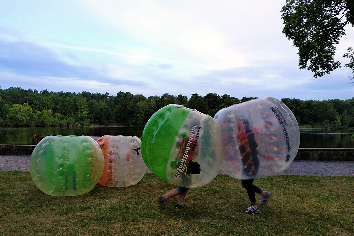 Bubble Football - Angriff