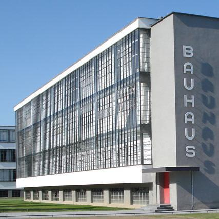 Bauhaus building in Dessau (square)