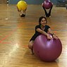 Ball Fitness mit Daniela