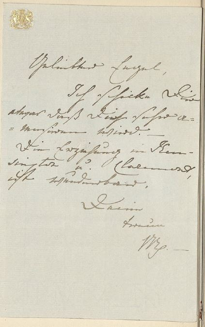 Carta de amor de Victoria