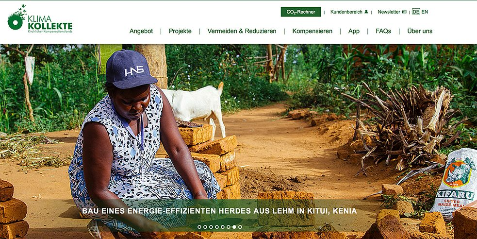 <b>Carbon compensation as a Christian mission</b><br>Klima-Kollekte is the carbon offset fund of the Christian churches. It has been in operation since 2011, offering businesses and private individuals – of any faith – an opportunity to compensate for carbon emissions by donating to climate protection projects in developing countries. In the five years since the fund was established, 56,750 tonnes of CO2 has been offset.