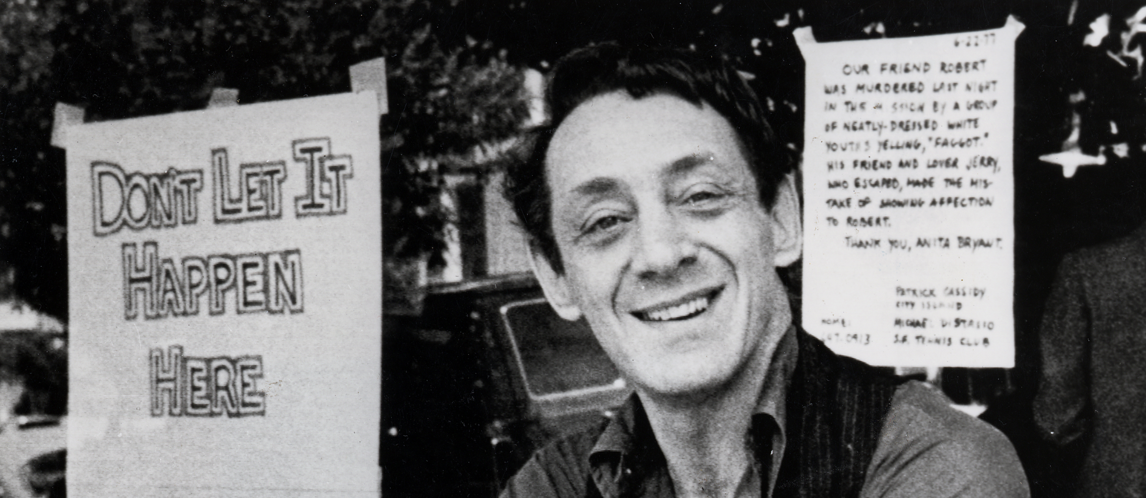 Harvey Milk vor Castro Camera, 1977