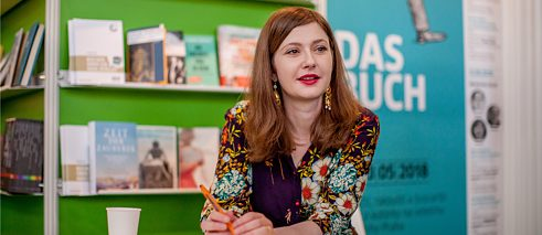 Olga Grjasnowa at Prague Book Fair