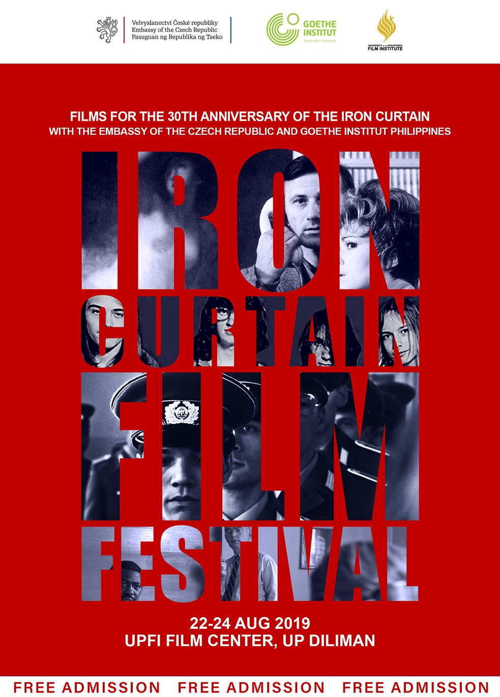 Iron Curtain Film Festival Poster