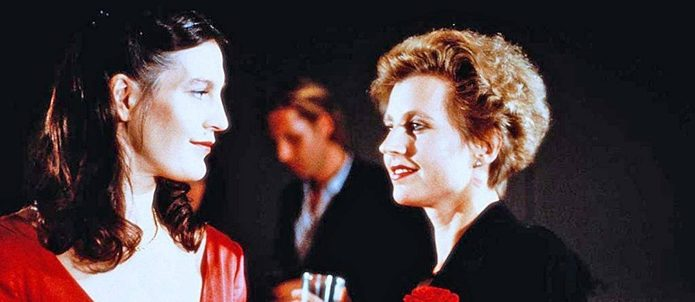 Angela Winkler and Hannah Schygulla in Margarethe von Trotta's Sheer Madness