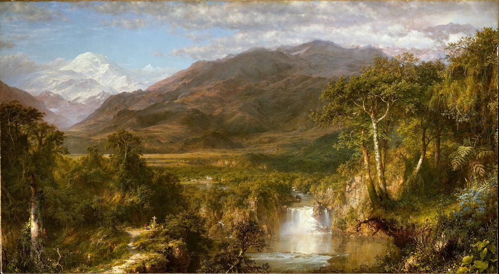 The Heart of the Andes by Frederic Edwin Church (1826–1900), 1859, Metropolitan Museum of Art, online collection