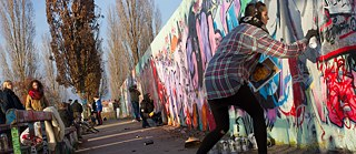 A section of the Wall at Mauerpark