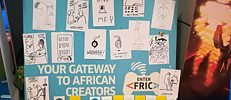 Graphics by Johanna Benz with voices and feedback on games by Enter Africa