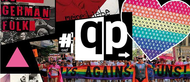 "Queer for students of German – the Cover from ""QP"""