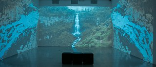 The video installation by José Luis Bongore