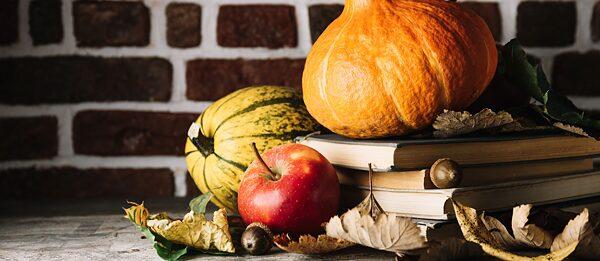Herbstsaison in der Bibliothek 2