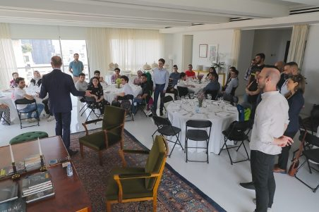 Final Day-Certifications-Lunch/Swedish Embassador's Hospitality
