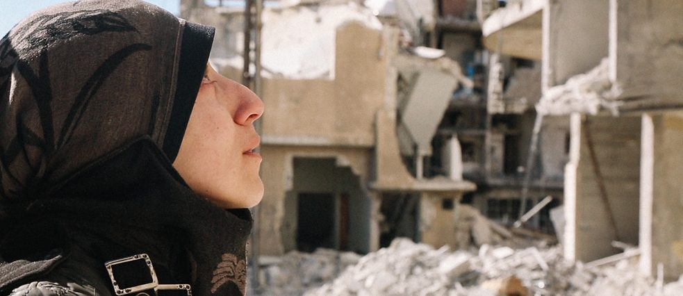 The Cave, a documentary about women doctors working in an underground hospital in war-torn Syria, was the opening film of the documentary programme of the 44th Toronto International Film Festival held during September 5-15
