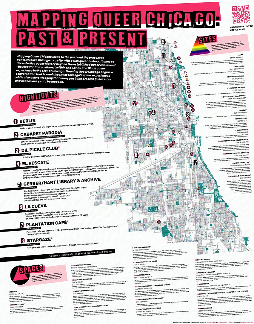 Mapping Queer Chicago: Past and Present