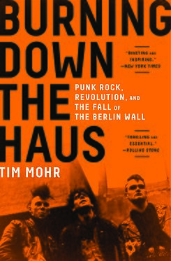 "Book cover ""Burning Down the Haus"""