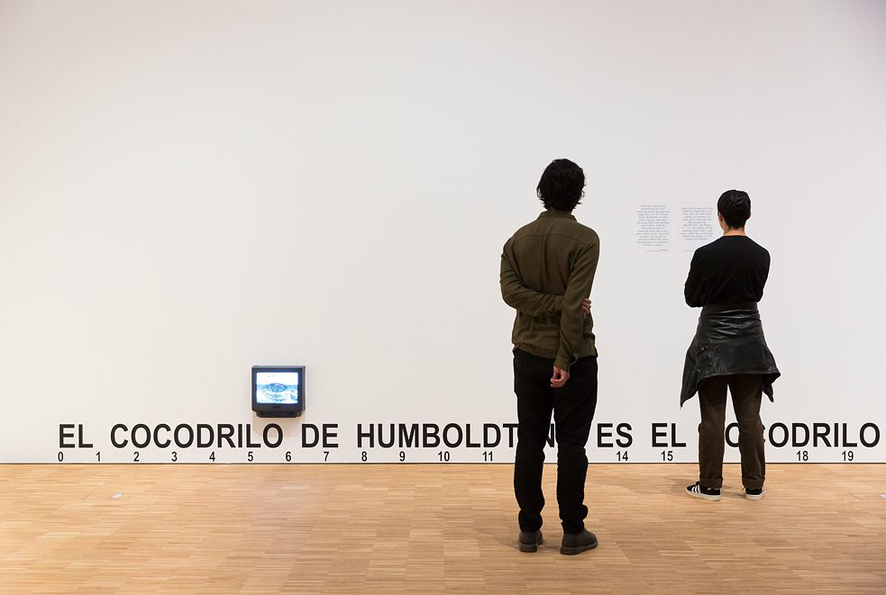 José Alejandro Restrepo <i>O crocodilo de Humboldt não é o crocodilo de Hegel</i>. The nature of things. Humboldt Forum Berlin, 2019.