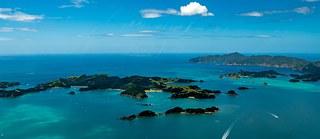 Bay of Islands, Luftaufnahme