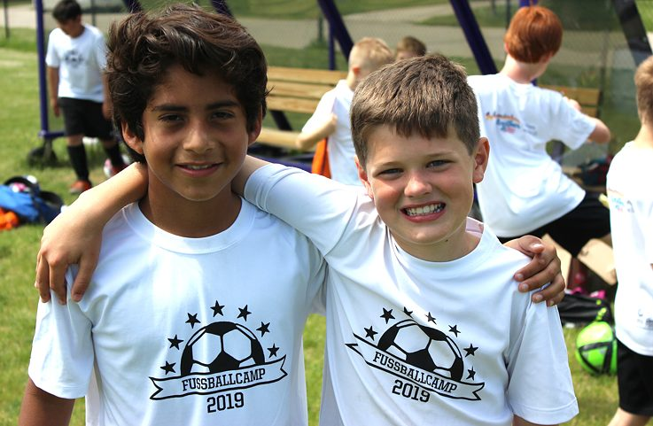 Fußball Camp 2019 Two boys