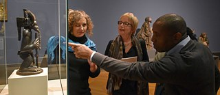 "Experts from Angola and Germany discuss the significance of one of the best-known works of African art from the Angolan collection at the Bode Museum in Berlin in 2018: the iconic sculpture of the cultural hero Chibinda Ilunga, founder of the Lunda Kingdom and an important symbol of identity for the Angolan ethnic community of Chokwe. The exhibition ""Unvergleichlich: Kunst aus Afrika im Bode-Museum"" (Incomparable: Art from Africa in the Bode-Museum) will run until further notice in the Bode-Museum and is part of the transformation process ""On the way to the Humboldt Forum""."